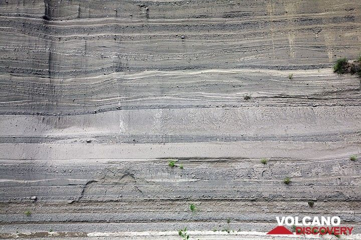 Pyroclastic deposits fro the Laacher See volcano eruption 10,700 years ago (East Eifel volcanic field, Western Germany) (Photo: Tom Pfeiffer)