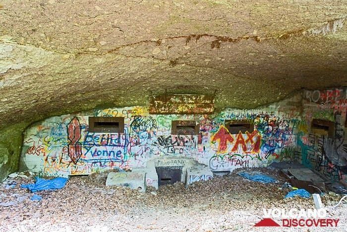 Old nazi bunker of 2nd world war. The area around the Siebengebirge was seriously affected by the war, because there have been many military bases of the nazi from which they were starting V2-rockets to England and france.  (Photo: Tobias Schorr)
