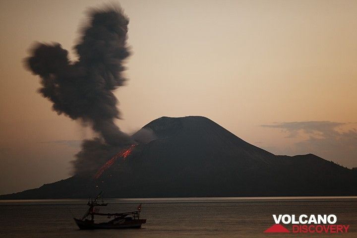 Eruption at dawn (c)