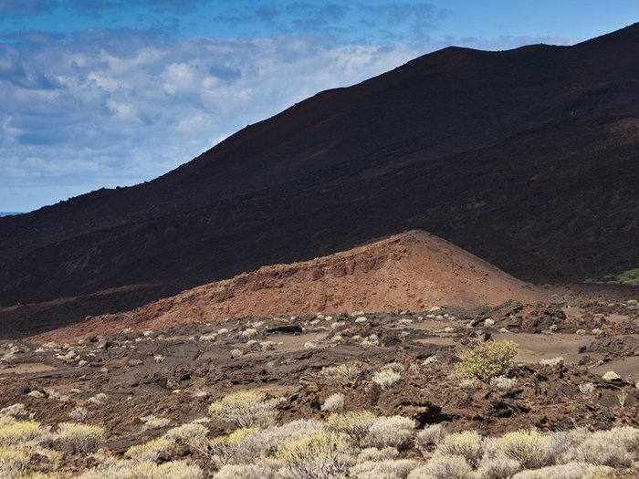 Little cinder cone at the area of Faro de Orchilla (Photo: tobias)