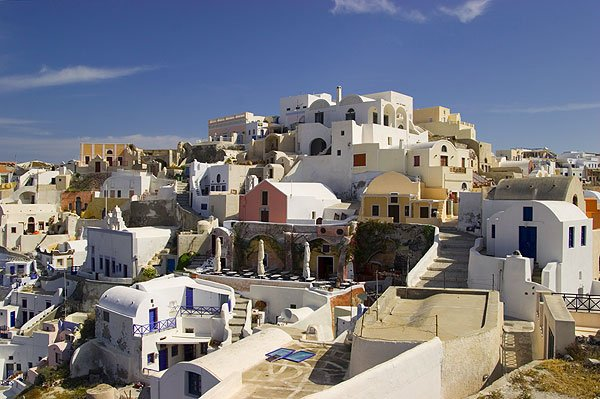 Oia town