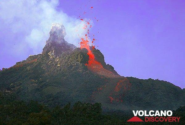 Etna Volcano Photos Eruptions
