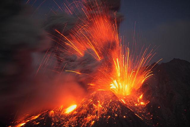 Photo Of The Day By Martin Rietze Volcanic Eruption From Sakurajima Volcano Japan