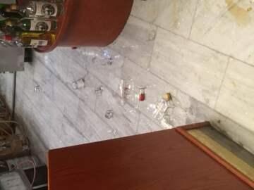Bar in reception (public domain)