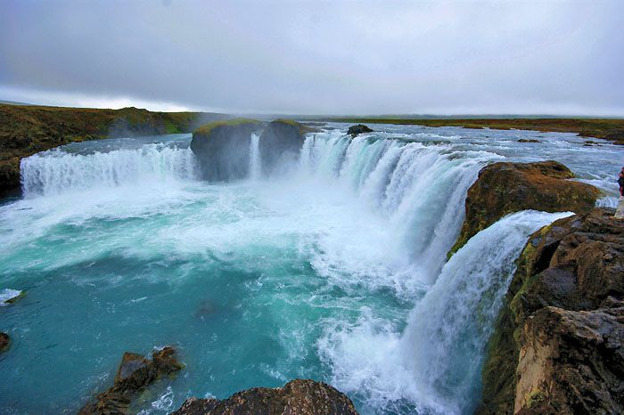 Godafoss - the waterfalls of the gods