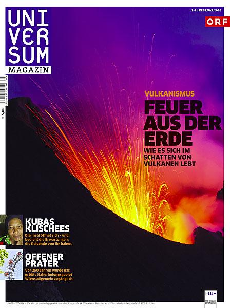 Cover of 02/2016 issue of Universum magazine