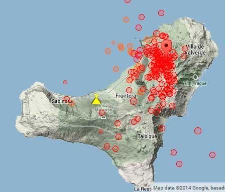 El Hierro volcano update New earthquake swarm VolcanoDiscovery