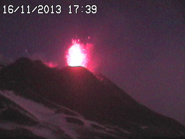 Strombolian explosion at the NSEC
