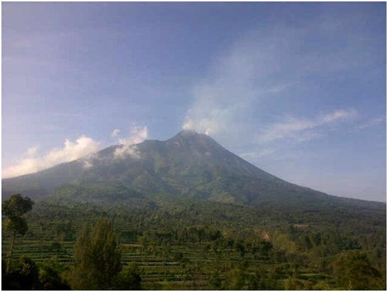 Merapi volcano recently (VSI)