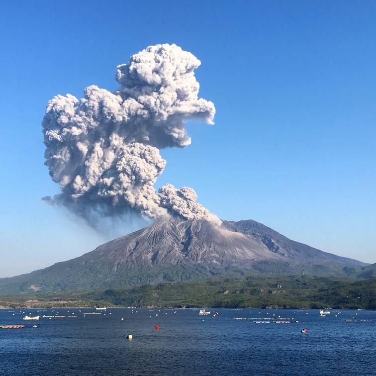 Image result for sakurajima japan