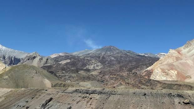 Tupungatito volcano (image: 24horas.cl)