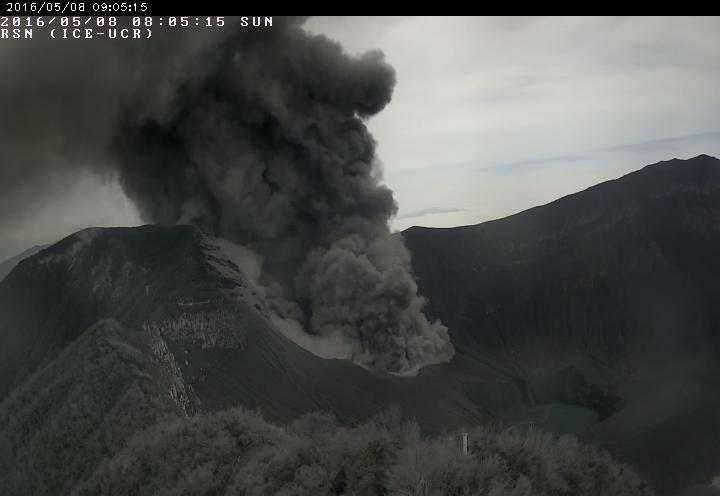 Turrialba Eruption