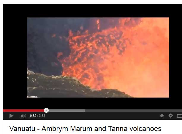 Marum lava lake (Ambrym Island, Vanuatu)