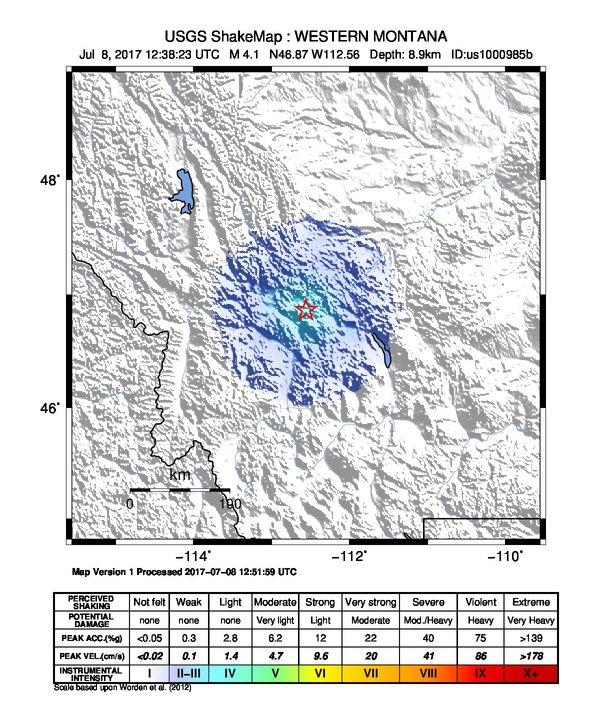 Earthquake Info M4 1 Earthquake On Sat 8 Jul 12 38 23 Utc