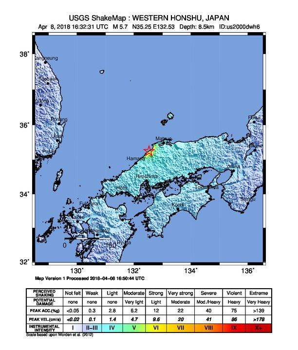 Earthquake info m57 earthquake on sun 8 apr 163233 utc shake map gumiabroncs Images